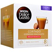 Càpsula de cafè tallat Nescafé Dolce Gusto descafeïnat