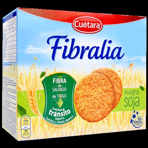 Galetes fibralia Cuétara integral amb soia