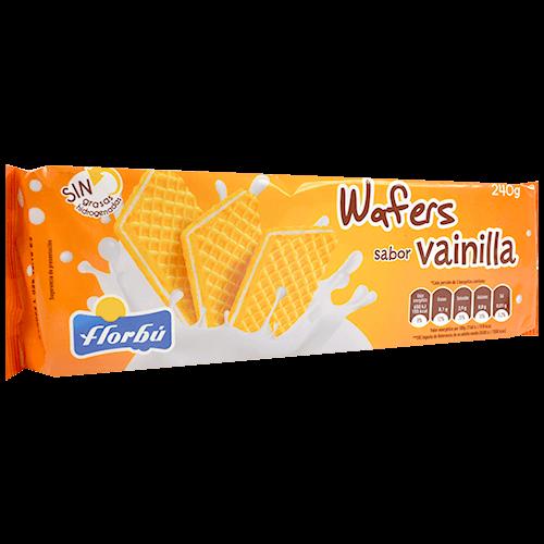 Galetes de neula Wafers Florbú sabor vainilla