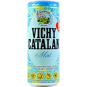 Aigua amb gas Vichy menta