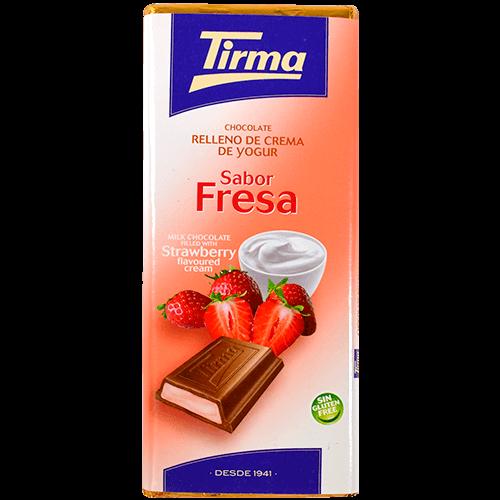 Xocolata farcit de crema Tirma gust maduixa