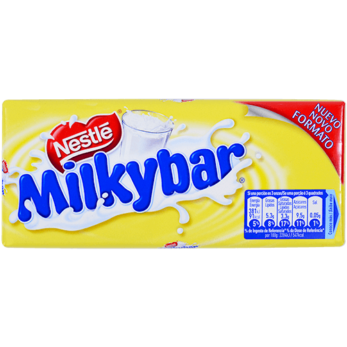 Xocolata blanca Milkibar tauleta