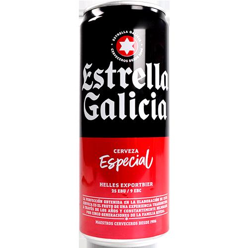 Cervesa Estrella Galicia llauna