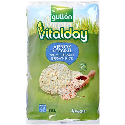 Coquetes de arròs Gullon vitalday