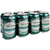 Cervesa clàssica Mahou paq. de 8 llaunes