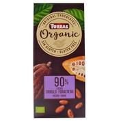 Chocolate negro 90% cacao criollo-forastero Torras organic