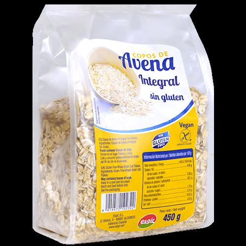 Copos de civada Esgir sense gluten bolsa