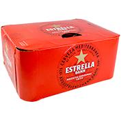 Cervesa Estrella Damm paq. de 12 llaunes