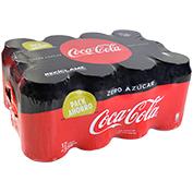 Coca cola zero paq. 12 latas