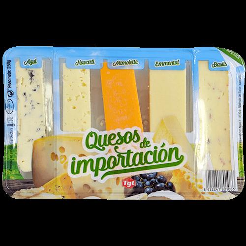 Taula de formatges importació