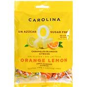 Caramels 0% sense sucre Carolina cítrics