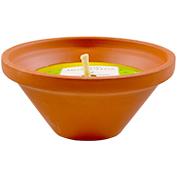 Espelma antismosquits aroma citronela Roura terracota mitjana