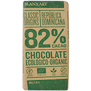 Chocolate negro 82% cacao ecológico Blanxart