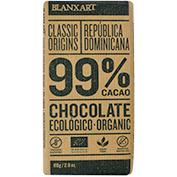 Chocolate negro 99% cacao ecológico Blanxart