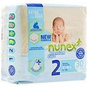 Pañal T/2 Nunex Premium Care 3-6 kg.