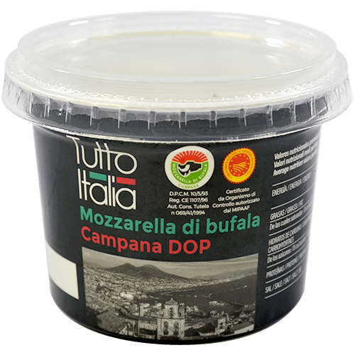 Mozzarella di bufala Tutto Italia DOP
