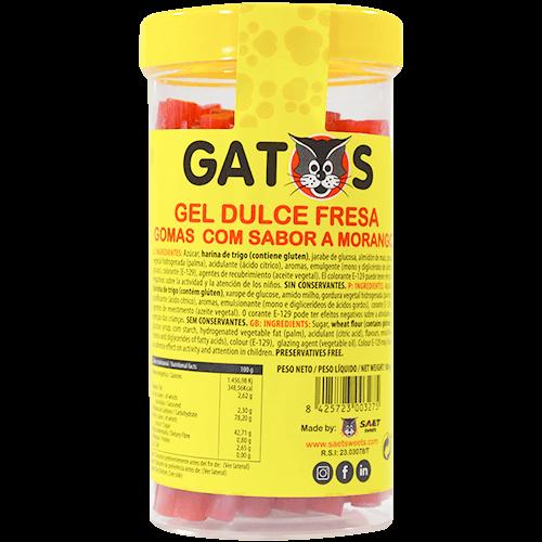 Barrita de regaliz fresa Gatos
