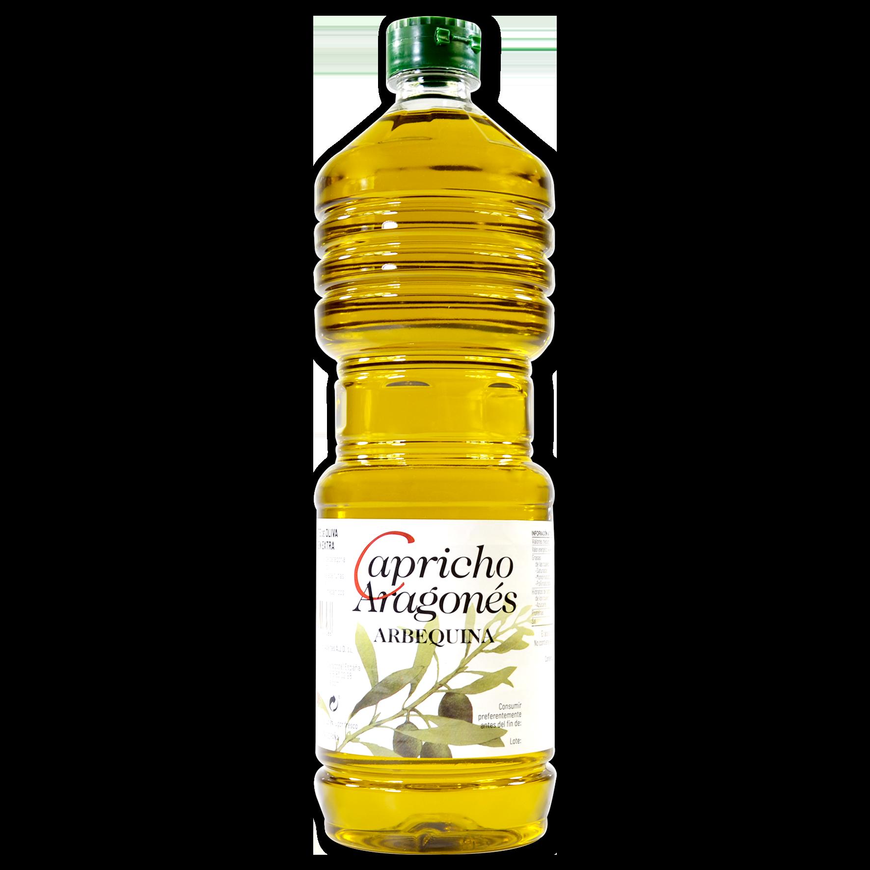 Aceite de oliva virgen extra Capricho Aragonés arbequina