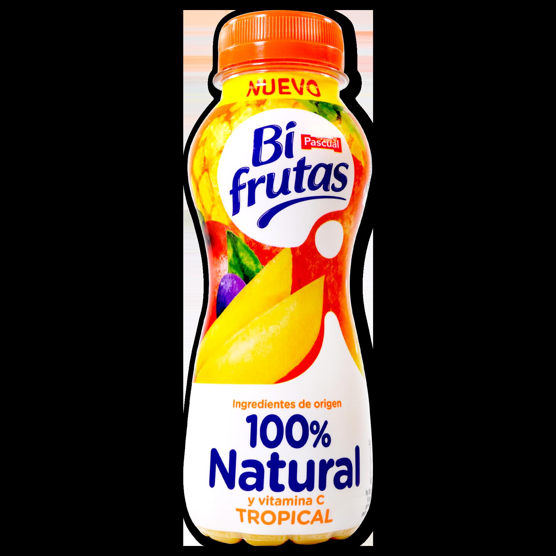 Bifrutas natural tropical Pascual