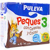 Leche crecimiento cereales y cacao Puleva peques 3