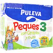 Leche crecimiento cereales y fruta Puleva peques 3