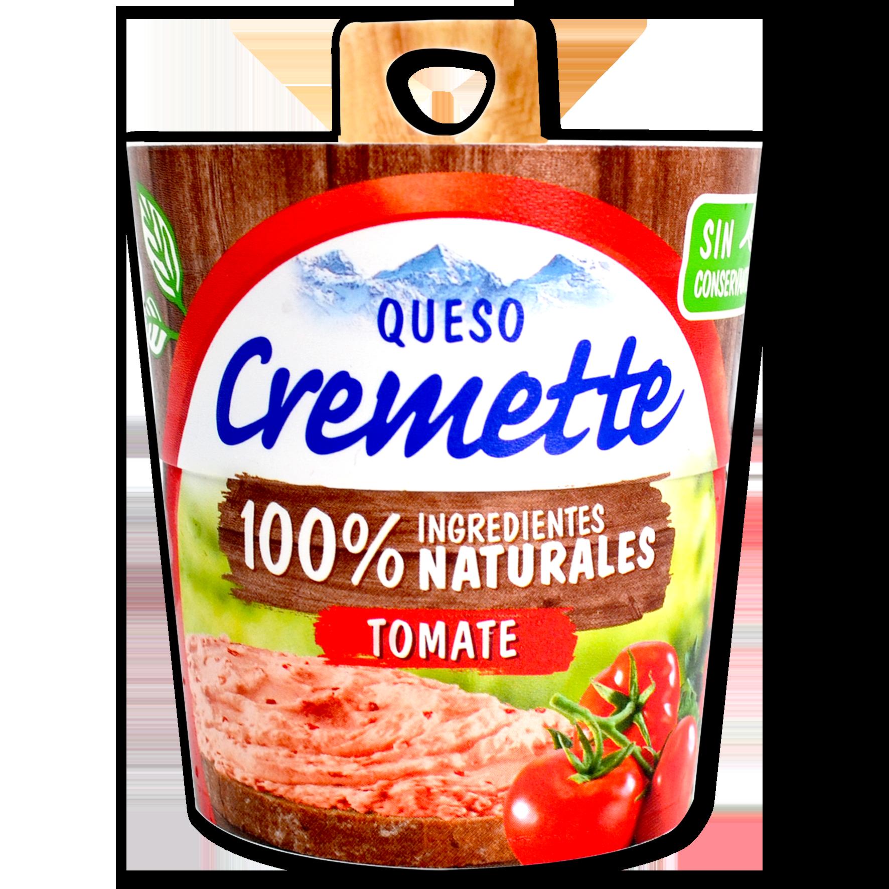 Formatge Cremette tomate premium