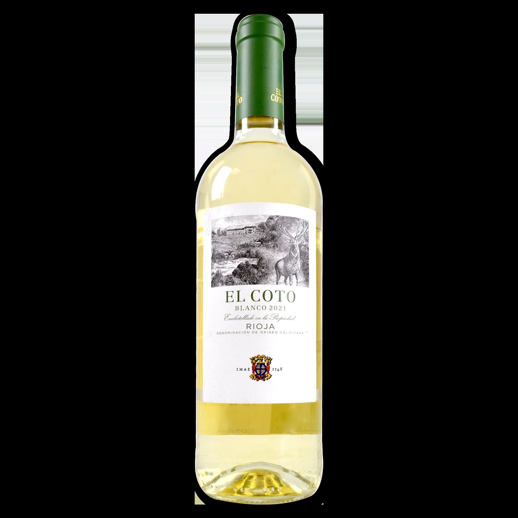 Vino blanco el Coto DO Rioja
