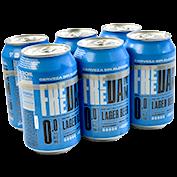 Cervesa sense alcohol Free Damm paq. de 6 llaunes