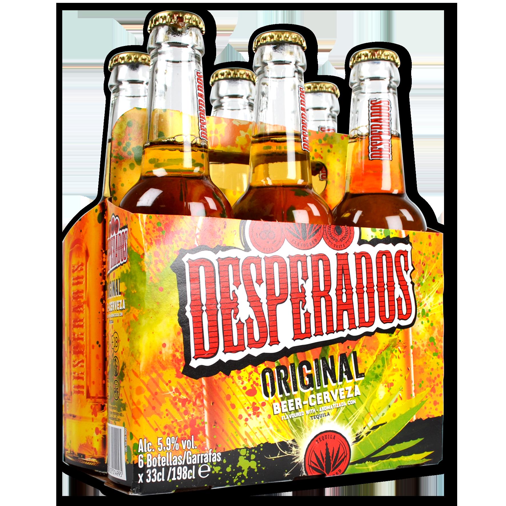 Cerveza Desperados paq. de 6 u.