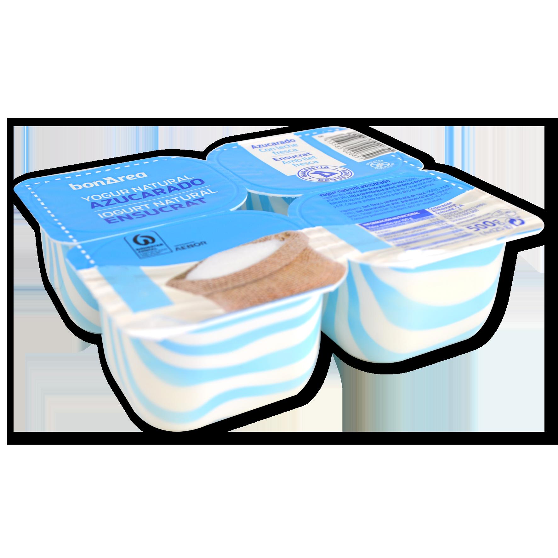 Iogurt natural ensucrat 4 u. de 125 g