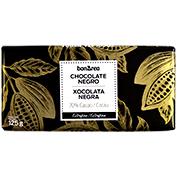 Chocolate negro 70% cacao tableta