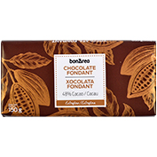Chocolate fondant tableta