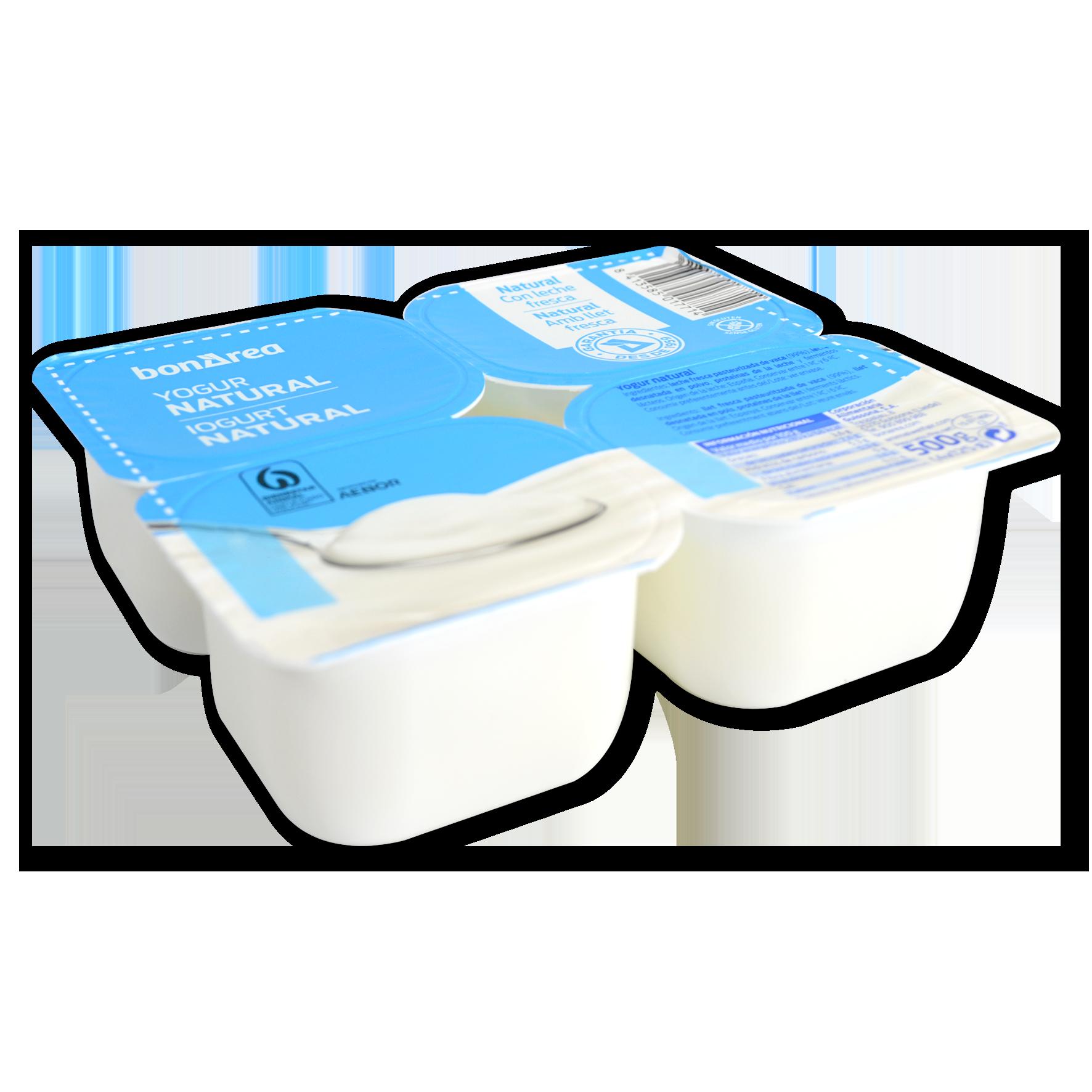 Iogurt natural 4 u. de 125 g