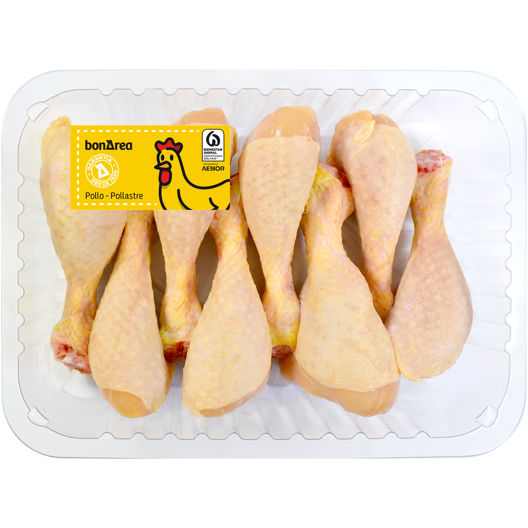 Pernilets de pollastre groc