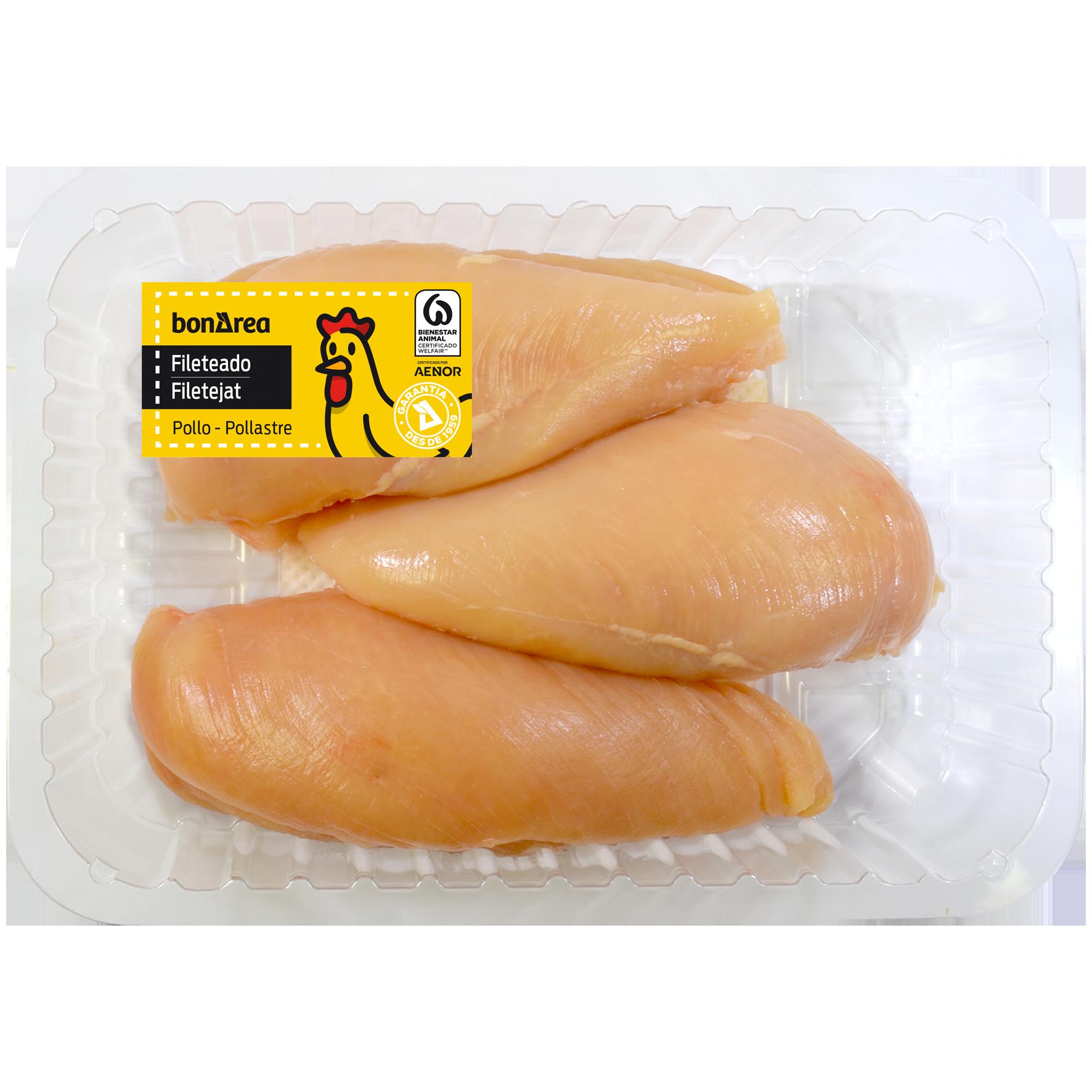 Pit de pollastre groc filetejat