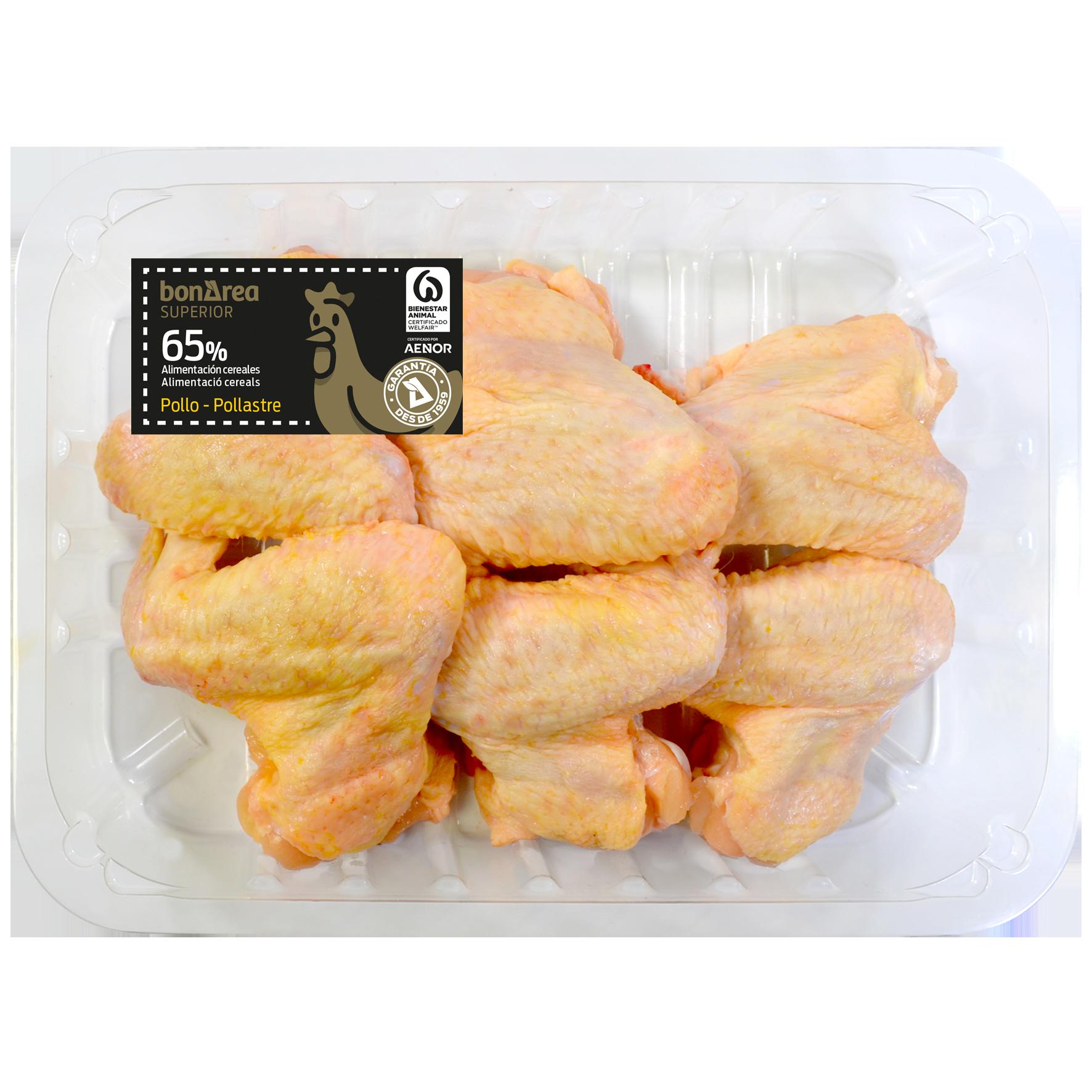 Ales de pollastre chef 4 u.