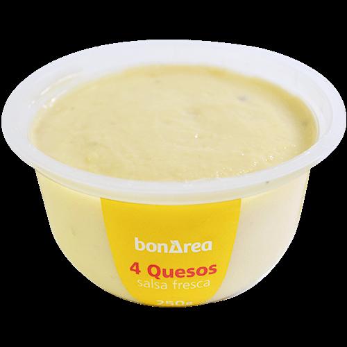 Salsa quatre formatges