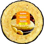 Truita fresca de patata sense ceba