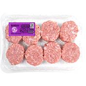 Mini burger meat extra de muslo de pavo