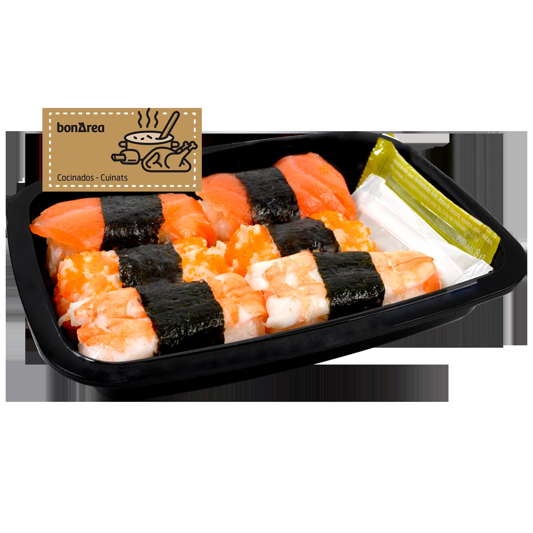 Assortiment de Sushi Nigiris