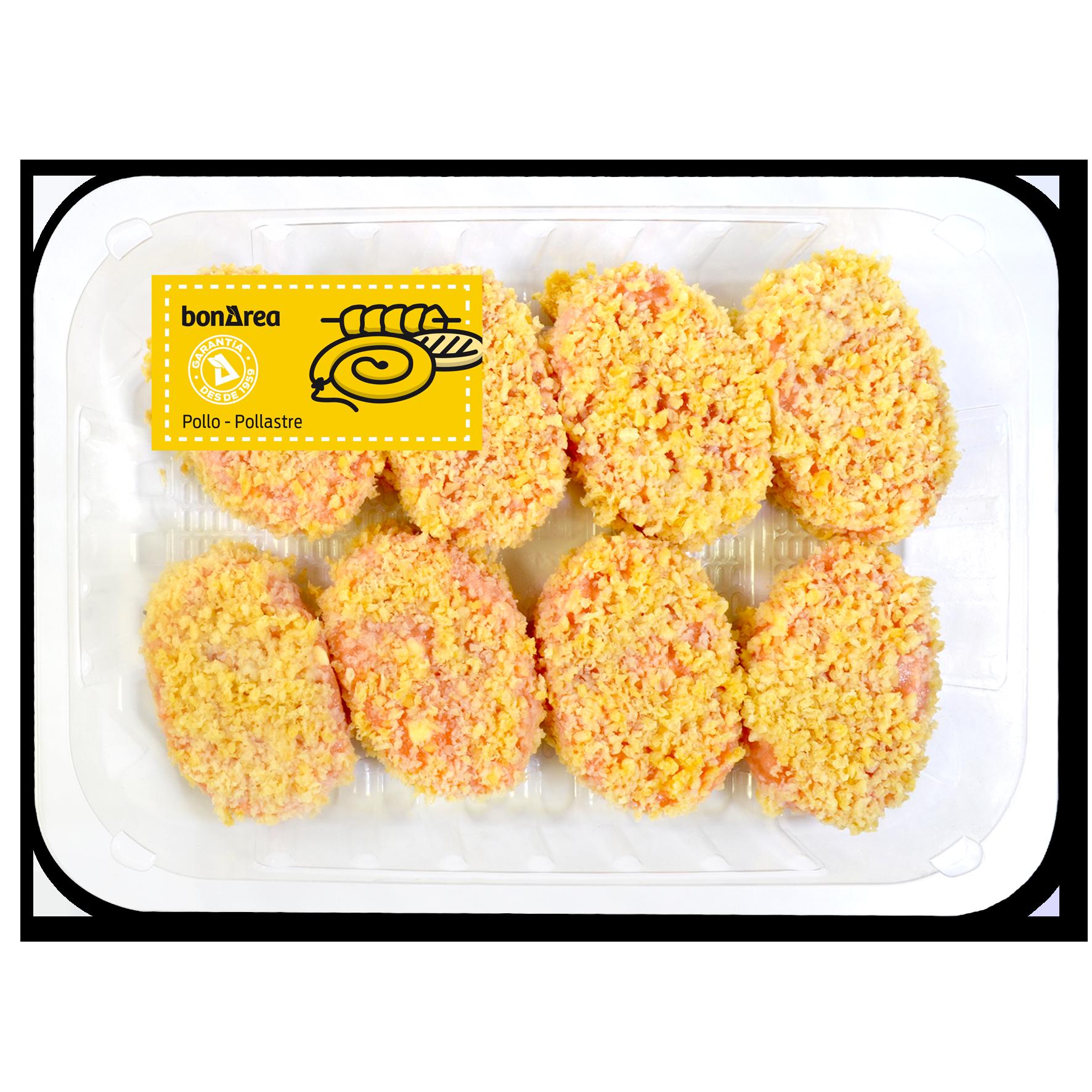 Nuggets de pollastre amb formatge