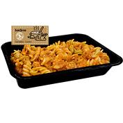 Hélices con salsa de atún