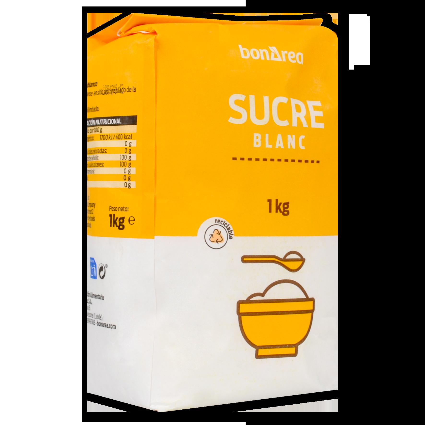 Sucre blanc paquet
