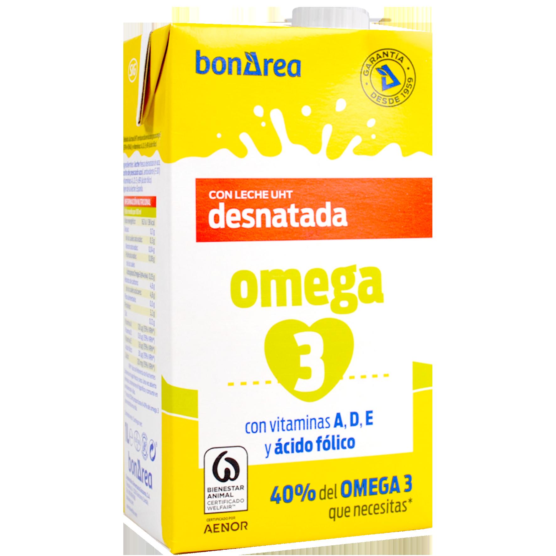 Llet omega 3 desnatada bric
