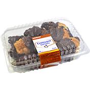 Croissants banyats amb xocolata 10 u.