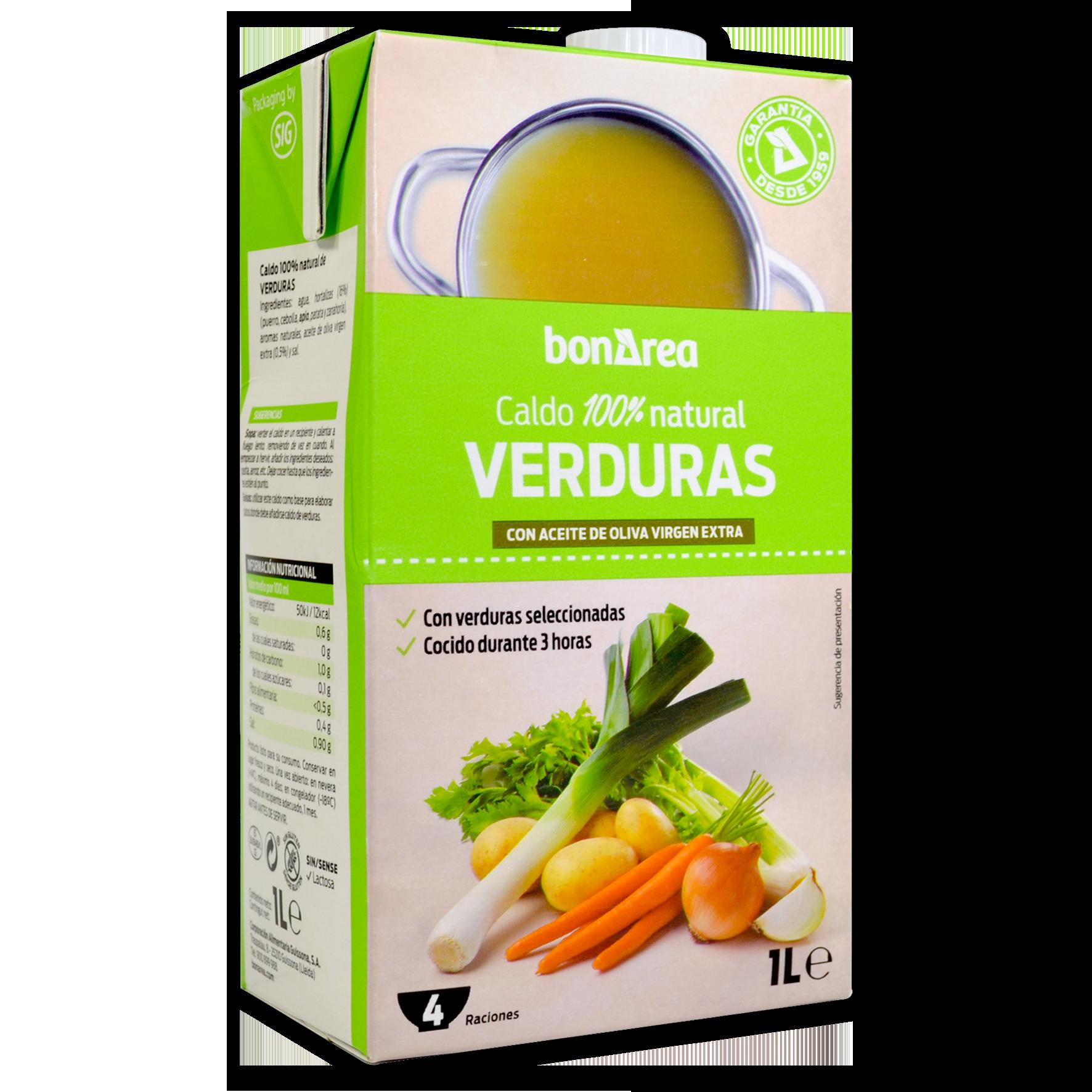 Brou natural de verdures