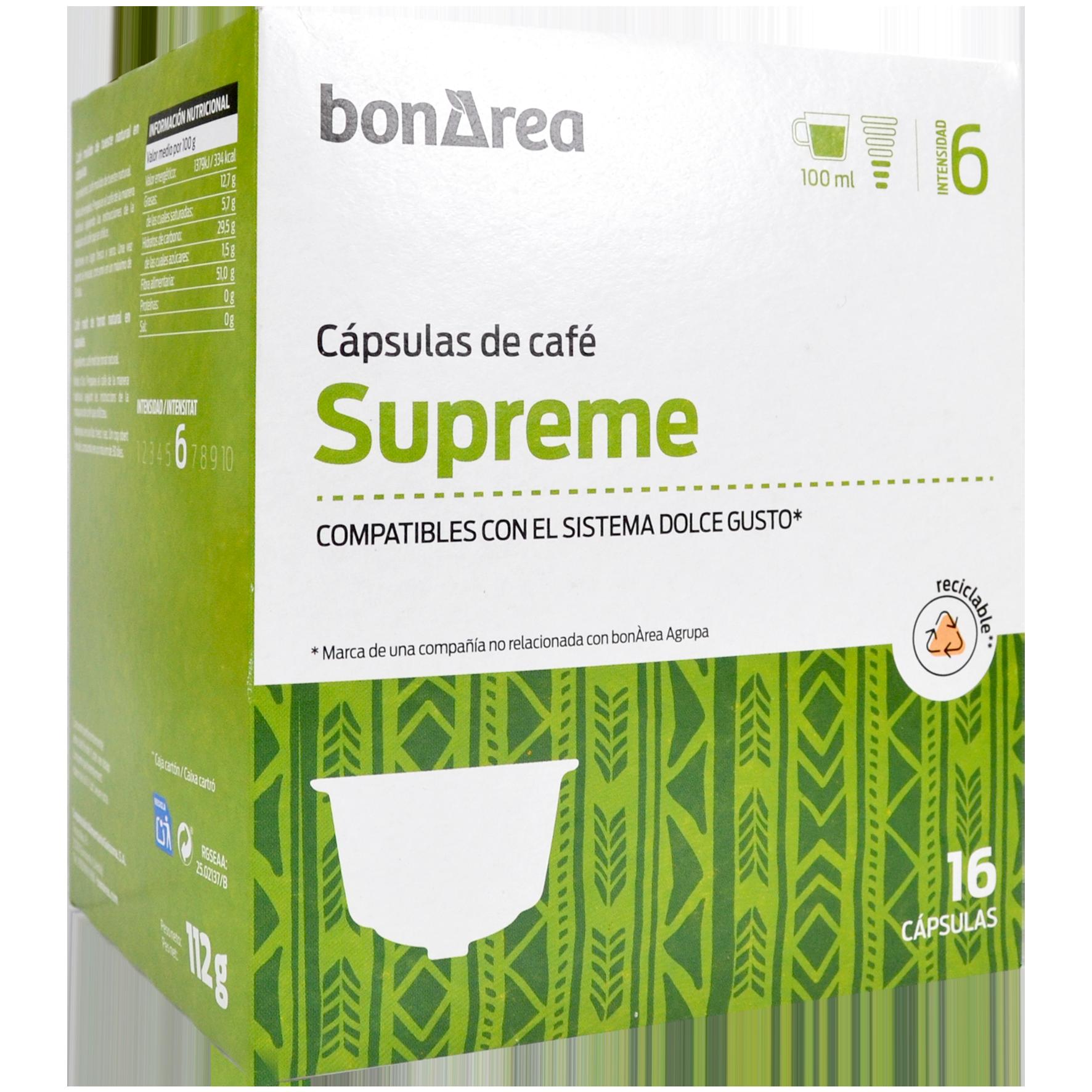 Càpsula de cafè supreme molt