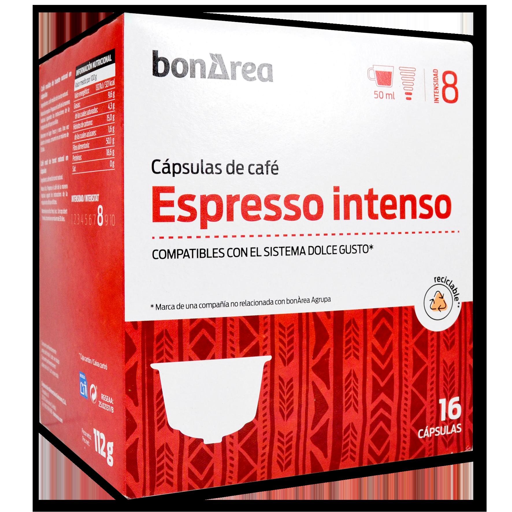 Càpsula de cafè espresso intens molt