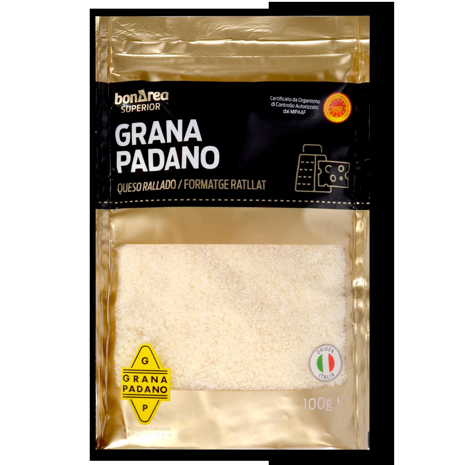 Formatge ratllat Grana Padano