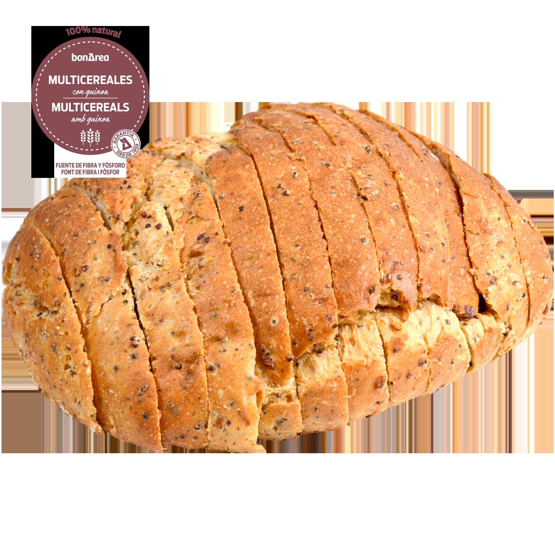 Pa multicereals amb quinoa